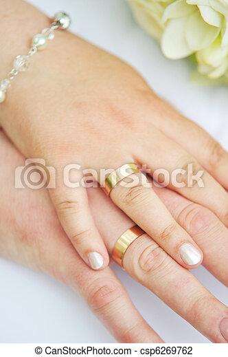 2 hands - csp6269762
