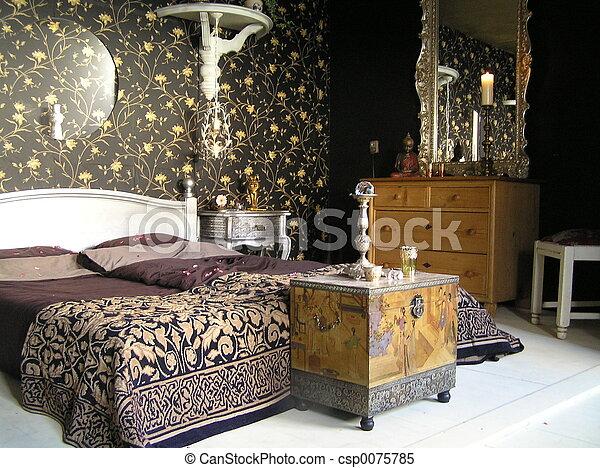 2, maestro, dormitorio - csp0075785