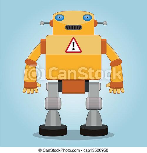 2, robot, classique - csp13520958