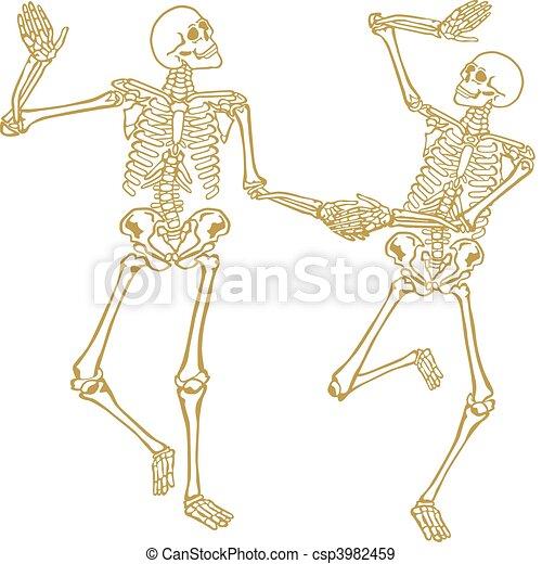 2, squelette - csp3982459