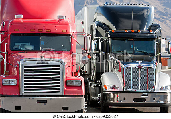 2 two trucks truck fleet - csp9033027