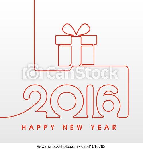 2006 Happy New Year Gift   Csp31610762