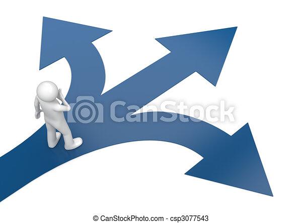 2010 neue Wahl auf deine Art - csp3077543