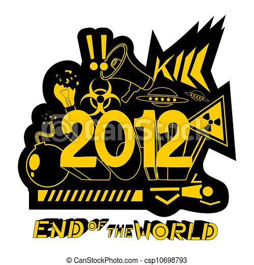 2012, end world - csp10698793