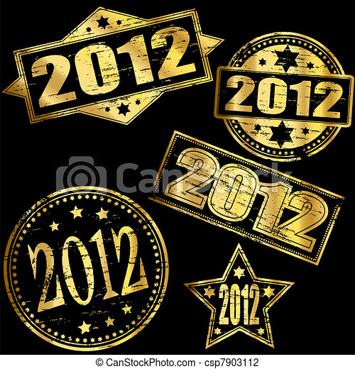 2012 gold stamp csp7903112