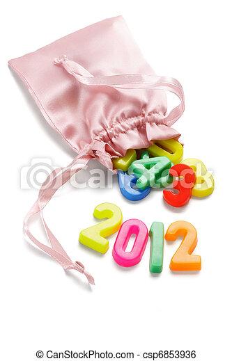 2012 Happy New Year - csp6853936