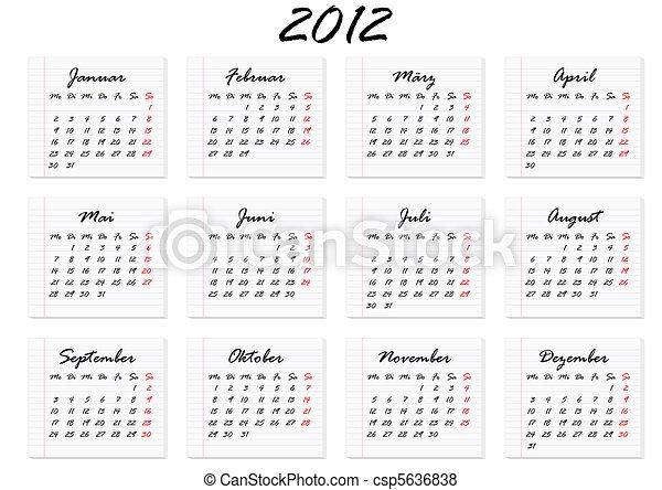 familienkalender 2012