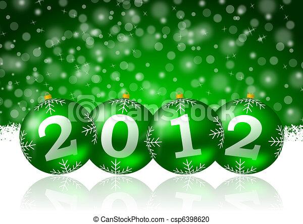 2012 new year - csp6398620