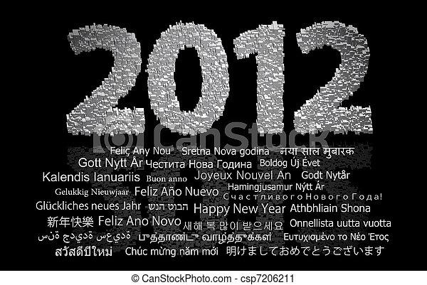 2012 new year - csp7206211