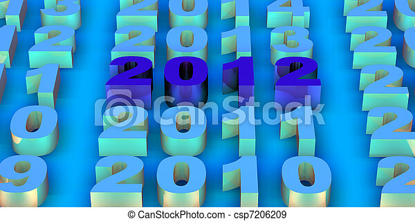 2012 new year - csp7206209