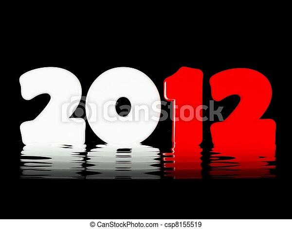 2012 New Year - csp8155519