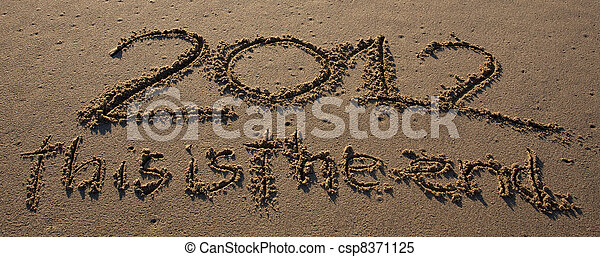 2012 this is the end - csp8371125