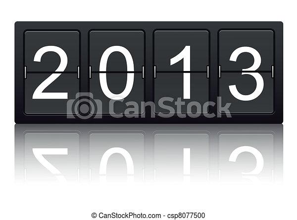 Das Jahr 2013 - csp8077500