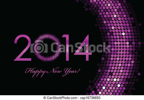 2014, 新年おめでとう - csp16736650