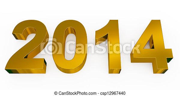 Año 2014 - csp12967440