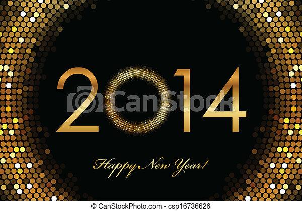 2014 feliz año nuevo - csp16736626