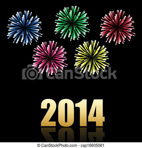 2014 new year celebration - csp16605061