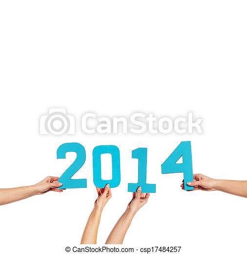 2014 New Year celebration - csp17484257