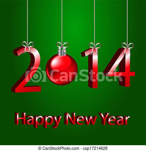 2014 new year - csp17214628