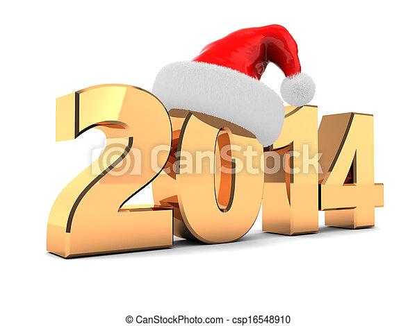 2014 new year - csp16548910