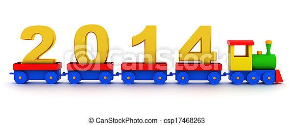 2014 new year - csp17468263