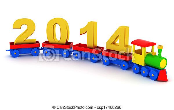 2014 new year - csp17468266