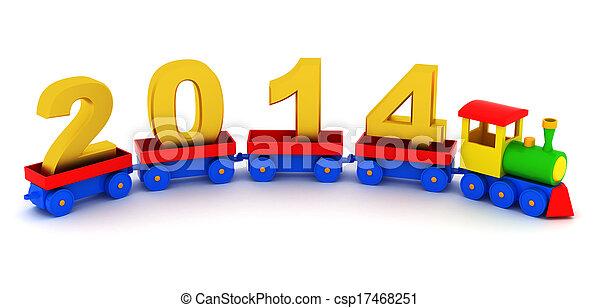 2014 new year - csp17468251