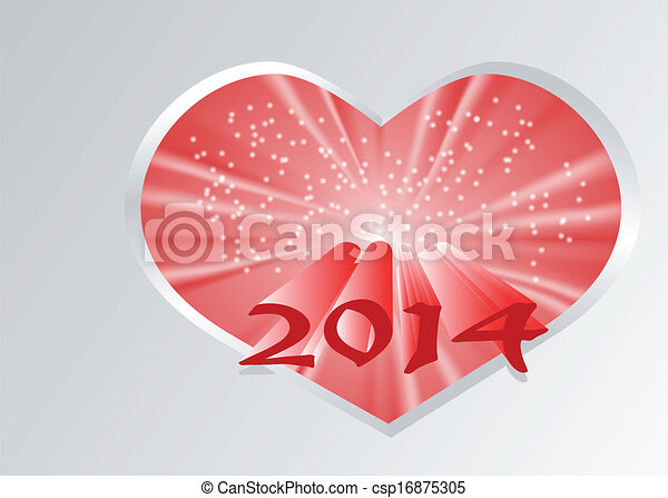 2014 new year - csp16875305