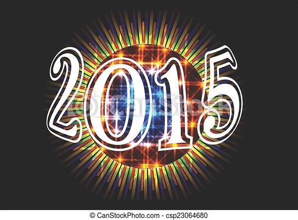 2015, bal, ディスコ - csp23064680