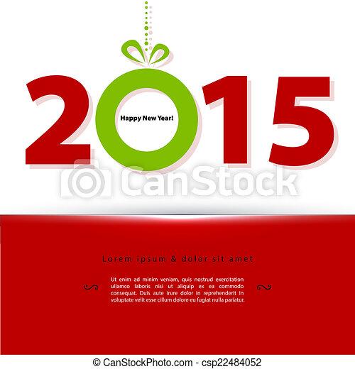 2015 New year - csp22484052