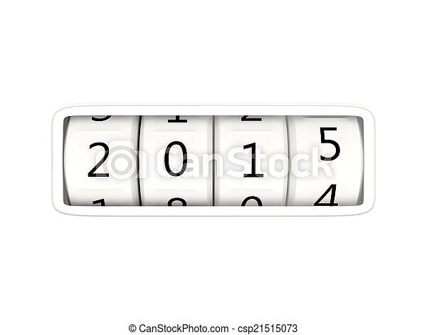 2015 New Year symbol - csp21515073