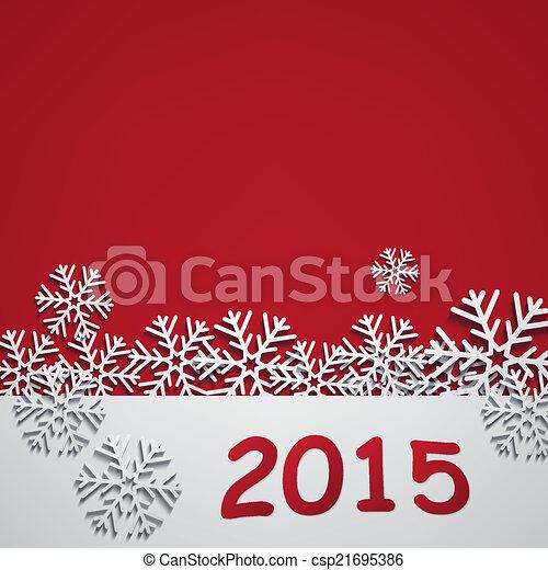 2015, novo, feliz, ano - csp21695386