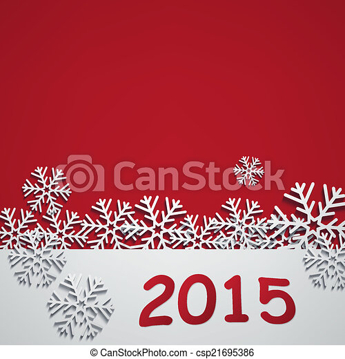 Feliz año nuevo 2015 - csp21695386