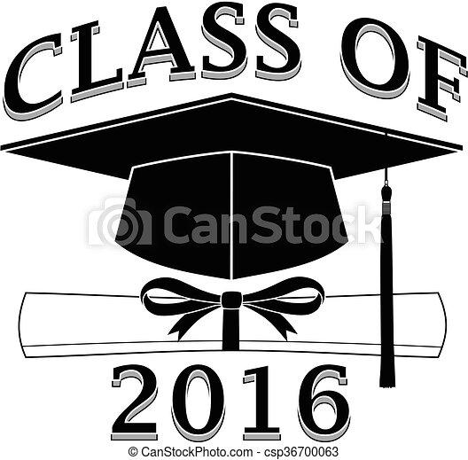 Clase de 2016, graduado - csp36700063