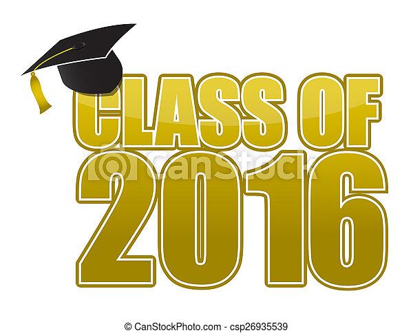 2016, graduazione - csp26935539