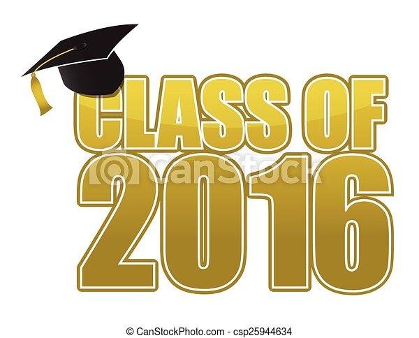 2016, graduazione - csp25944634