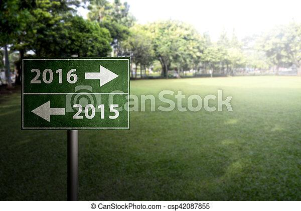 2016 signboard - csp42087855