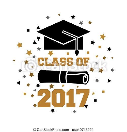2017, classe, scheda - csp40748224