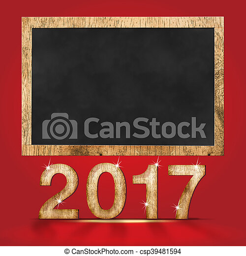 2017 new year wood texture number with stock photograph_csp39481594jpg