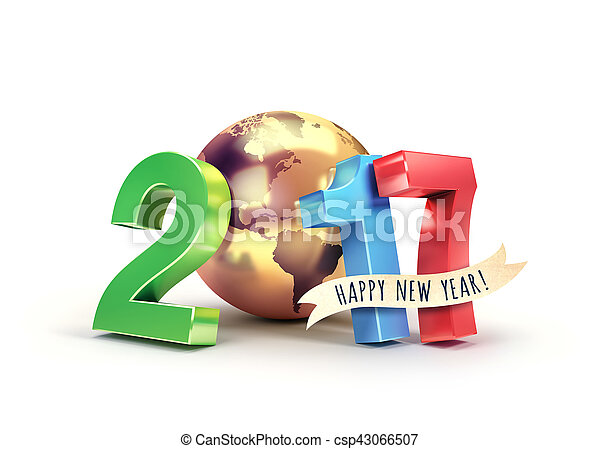 2017 Worldwide greeting symbol - csp43066507