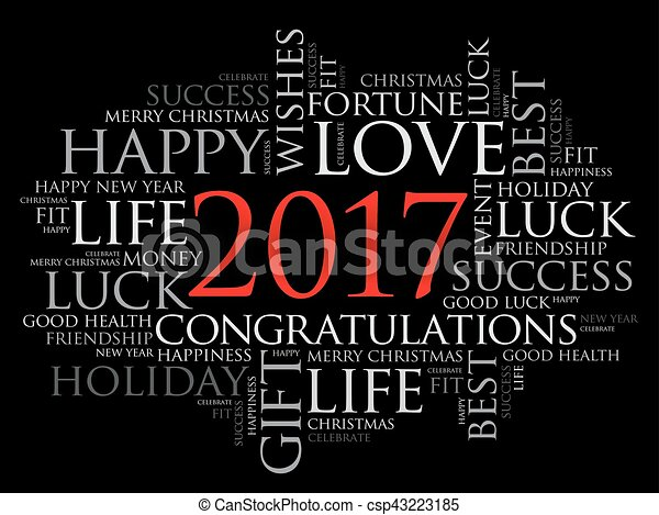 2017 year greeting word cloud collage happy new year celebration 2017 year greeting word cloud collage csp43223185 m4hsunfo