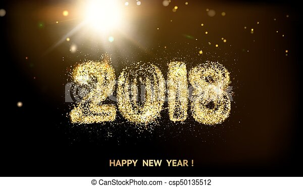 2018 new year background csp50135512