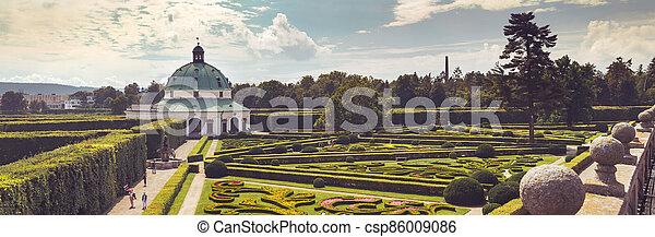 2019:, baroko, zahrada, sad, unesco, květ, -, republika, 08, kromeriz, rotunda, kromeriz, 16, čech - csp86009086