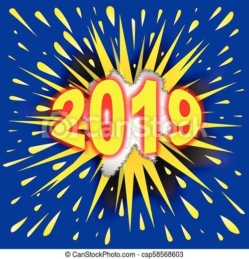 Le célèbre Explosion, texte, résumé, 2019, bulle, dessin animé. #PX_79