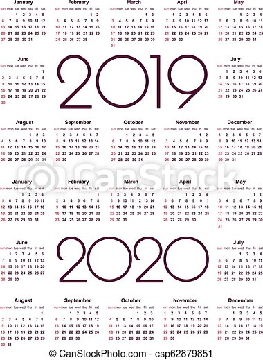 Calendario 2020 Portugues Com Feriados.2019 Calendario 2020 Year