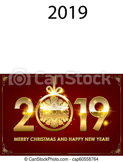 2019 happy new year background csp60558764