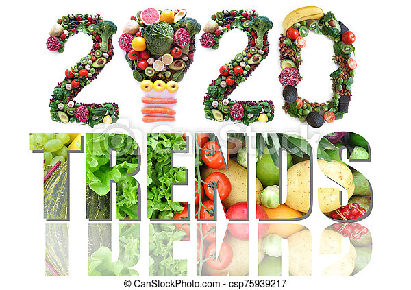 2020 food and health trends - csp75939217