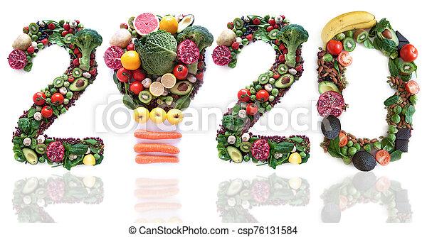 2020 food closeup - csp76131584