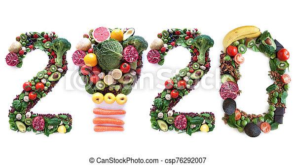 2020 food closeup - csp76292007