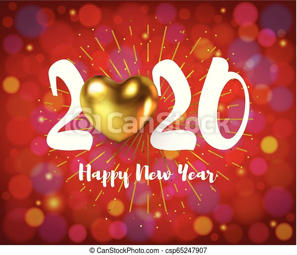 2020 merry christmas happy new year poster with golden heart on bokeh sparkling backdrop for christmas xmas winter holiday https www canstockphoto com 2020 merry christmas happy new year 65247907 html